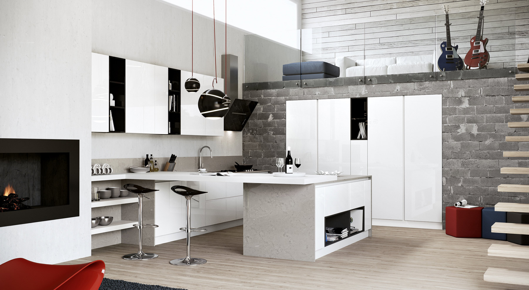 Best Cucine Particolari Moderne Pictures - Ideas & Design 2017 ...
